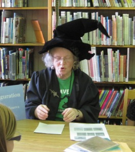 Professor McGonagall performed a paper transformation charm, demonstrating how to turn paper into a golden snitch.