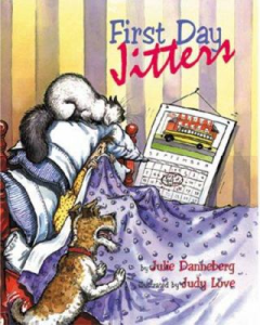 First Day Jitters cover and catalog link
