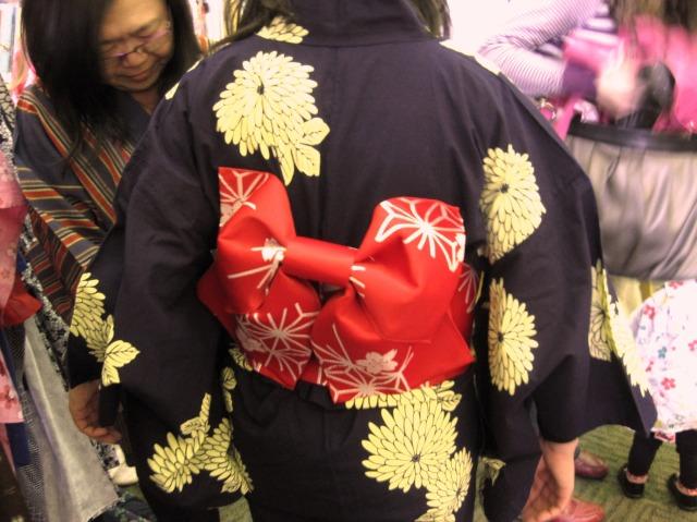 try on a kimono!
