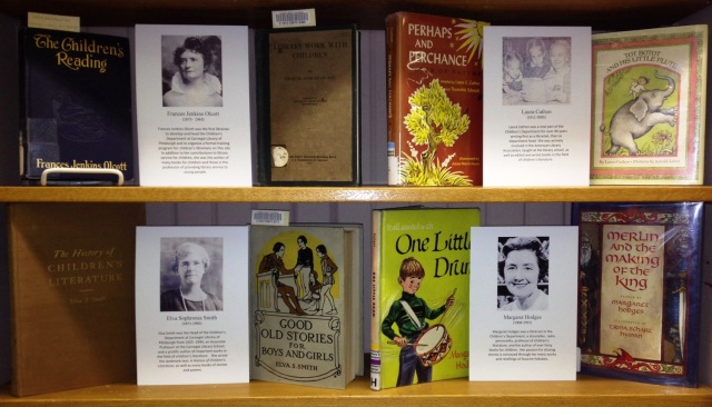 Frances Jenkins Olcott, Laura Cathon, Elva Sophronia Smith, and Margaret Hodges were not only librarians, but well-known writers and experts in the field of children's literature.