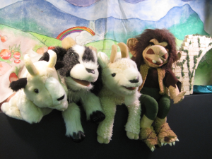 The cast of the Annual Puppet Show at CLP - Main. Lars